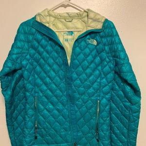 North Face Thermoball Hood Womens XS Puffer Jacket